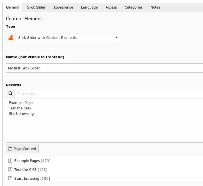 Responsive Slick Slider für TYPO3 9 5: Neue Features: Zufällige