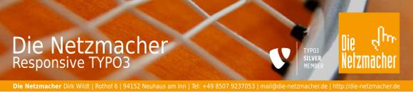 Die Netzmacher - responsive TYPO3 aus Bayern / Passau